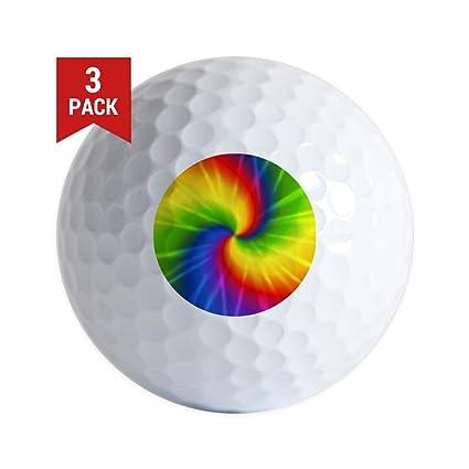 Amazoncom Cafepress Retro Tie Dye Golf Balls 3 Pack Unique