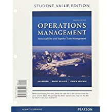 Operations Management: Sustainability and Supply Chain Management, Student Value Edition Plus MyOMLab with Pearson eText -- Access Card Package (12th Edition)
