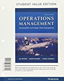 img - for Operations Management: Sustainability and Supply Chain Management, Student Value Edition Plus MyOMLab with Pearson eText -- Access Card Package (12th Edition) book / textbook / text book