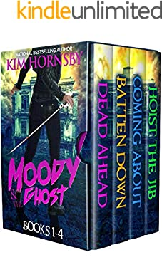 Moody & The Ghost - Books 1-4: Mystery, Ghosts & Romance (Moody Mysteries)