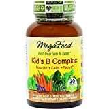 MegaFood - Kid's B Complex, Supports the Health of the Nervous System, 30 Tablets (FFP)