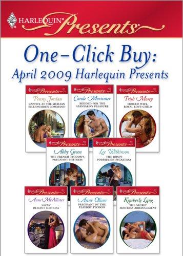 One-Click Buy: April 2009 Harlequin Presents
