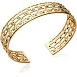 1594e5fd929b1c ISADY - Linia Gold - Bracelet jonc femme - Plaqué Or 750 000 (18 ...