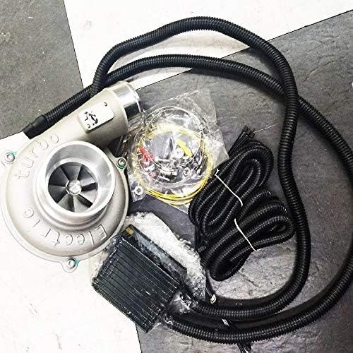 Lnncwcd Elektro Turbolader Kit Automatische Drehzahlregelung Hohe Effizienz Und Energieeinsparung Luftfilter Intake Verbessern Auto Geschwindigkeit Küche Haushalt