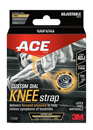 Ace Brace Adjustable Knee (Ace Custom Dial Knee Strap, Adjustable)