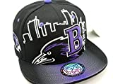LEADER OF THE GAME Baltimore Skyline Cap in Ravens Colors Black & Purple