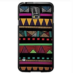 lintao diy Colorful Tribal Pattern Hard Snap on Phone Case (Galaxy s5 V)