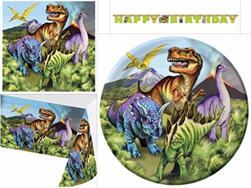Dinosaur Birthday Supplies Napkins Tableware