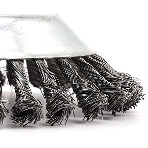 Cepillo redondo para desbrozadora de 200 x 25,4 mm: Amazon.es: Bricolaje y herramientas