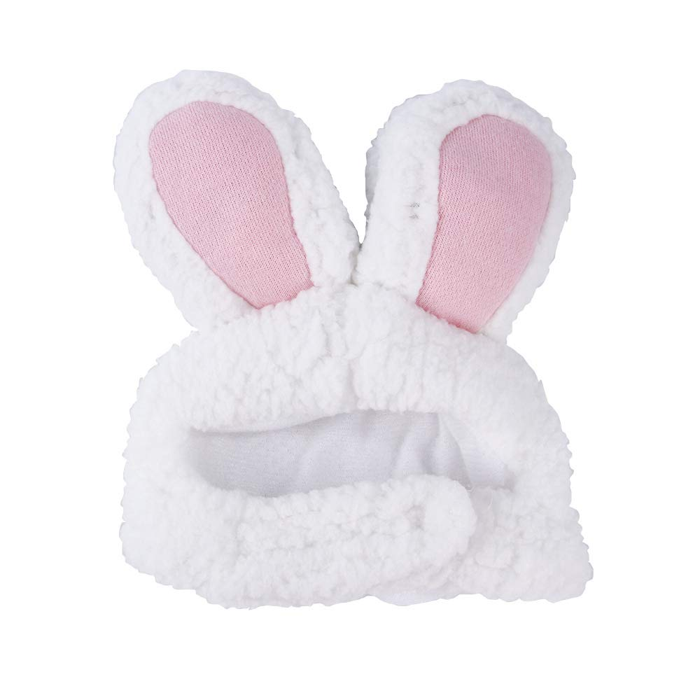 BERYLX Disfraz de Pascua para Gato Disfraz de Conejo de Gato de tama/ño Ajustable Orejas de Conejo para Cosplay de Pascua Disfraz de Cachorro de Pascua