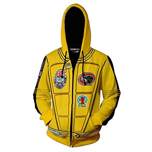 Hot Kill Bill Cosplay Costume Hoodie Uma