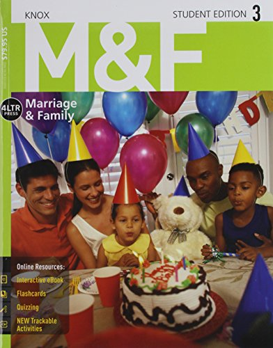 Bundle: M&F, 3rd + CourseMate, 1 term (6 months) Printed Access Card