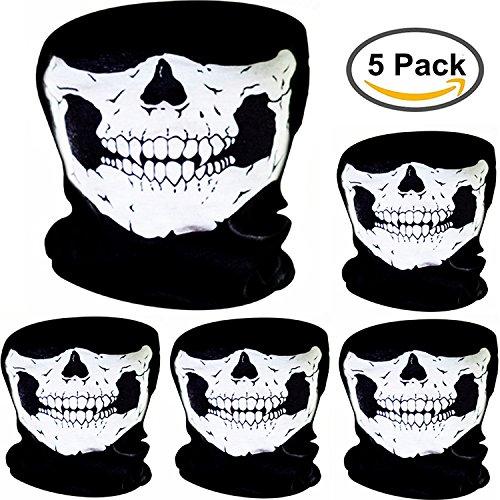 Skull Half Mask - 9