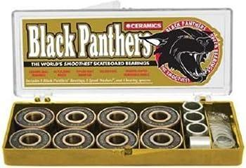 Black Panther Ceramic Longboard Bearing