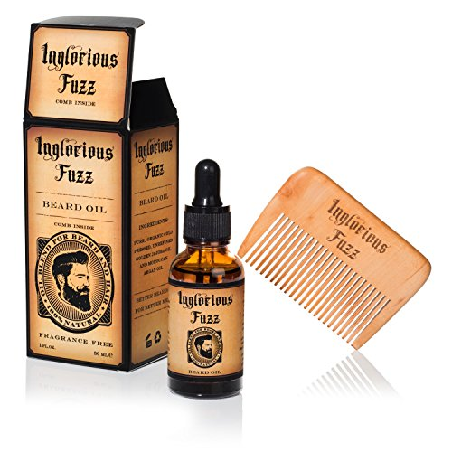 Beard Oil Comb Inglorious Fuzz product image