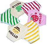 Collager 2pcs 5-layer Toddlers Baby Boys Girls Breathable Cotton Training Pants (90, Pink)