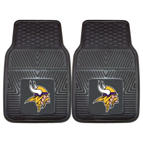- FANMATS NFL Minnesota Vikings Vinyl Heavy Duty Car Mat