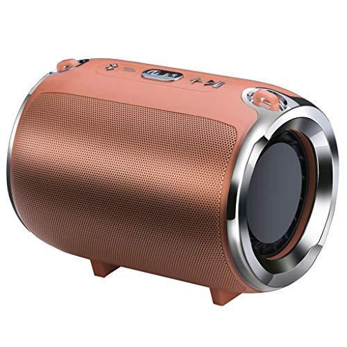 h Speaker Portable Mini Wireless Heavy subwoofer Player Music Sound ()