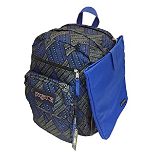 JanSport Digital Student (Blue Streak Tropic Chomp)