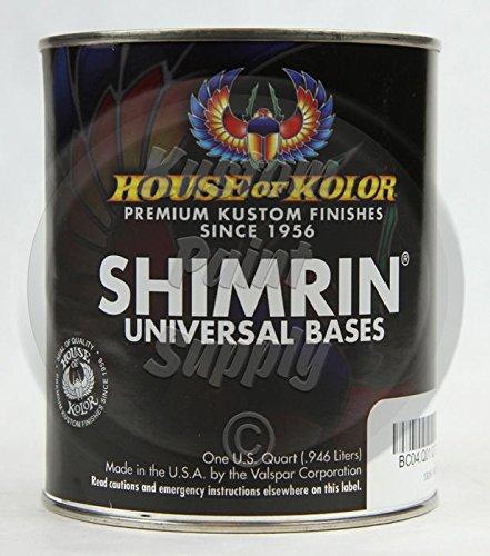 House of Kolor PBC44 Snowhite Pearl Shimrin Basecoat 1 Quart