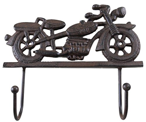 Cast Iron Motorcycle Coat Rack