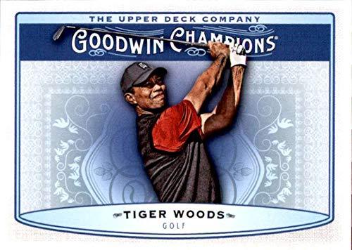 2019 Upper Deck Goodwin Champions #75 Tiger Woods Golf ()