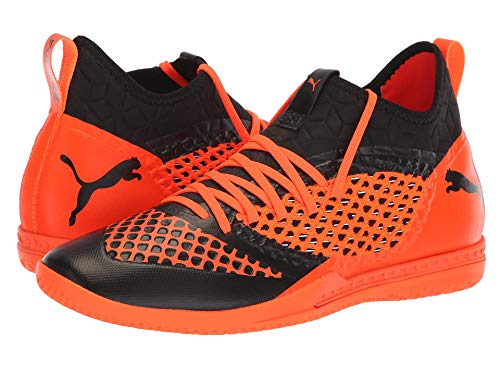 [PUMA(プーマ)] メンズランニングシューズ?スニーカー?靴 Future 2.3 Netfit IT Puma Black/Shocking Orange 7 (25cm) D - Medium