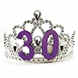Big Mouth Toys Women's 30th Birthday Silver Tiara