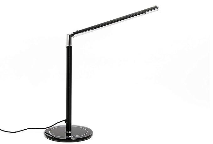 Lampada da tavolo dimmerabile lihao w leds lampada da