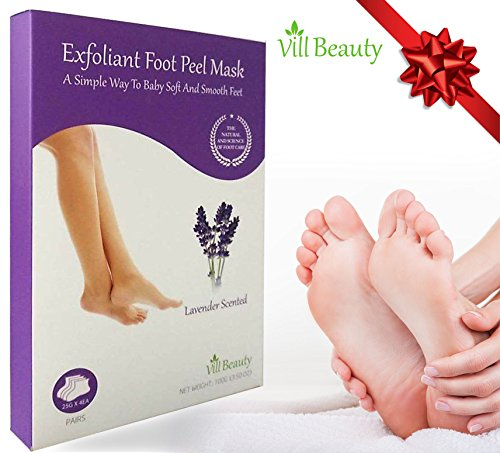Soft Peel (Foot Mask 2 Pairs Soft Touch Foot Peel Mask Exfolianting | Remove Dead Skin & Calluses Naturally, Get Smooth, Soft foot For Men & Women)
