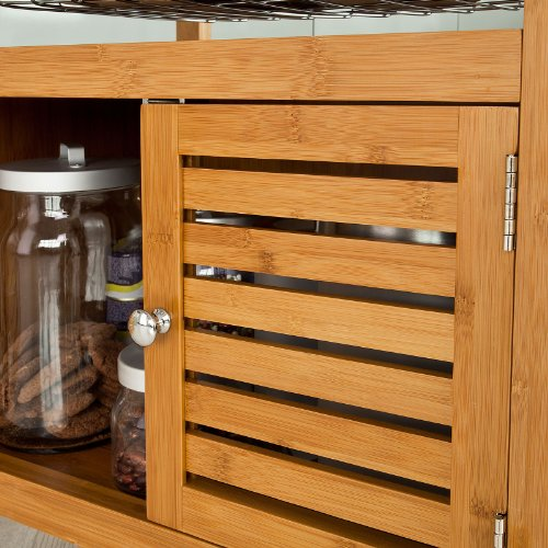 Large Kitchen Storage Cabinets: SoBuy Large Wheeled Kitchen Storage Cart, Kitchen Storage