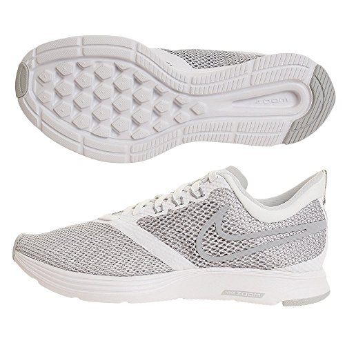 Wmnszoom White Femme Strike Blanc Basses Grey NIKE Sneakers Wolf 001 dxYHdq