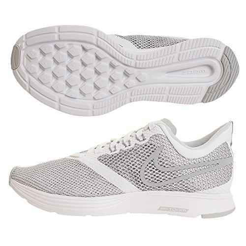 Donna Grey Zoom wolf Scarpe white 100 Da Corsa Bianco Strike Nike ZqAn7Ww6W
