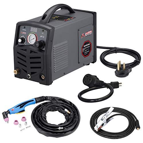 """APC-50, 50Amp Plasma Cutter, 115V 230V Dual Voltage Inverter DC Mosfet Cutting Machine, 3/4"""" Clean Cut."""
