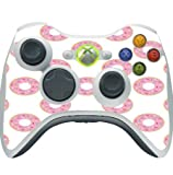 Fun Pink Donuts Doughnuts Sprinkles Xbox 360 Wireless Controller Vinyl Decal Sticker Skin by Debbie's Designs