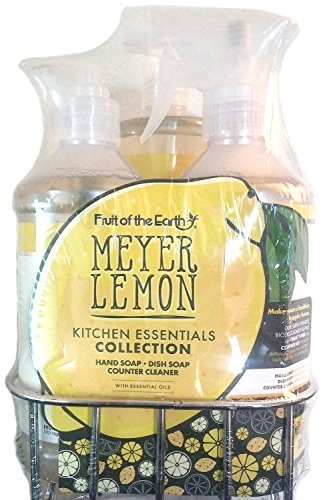 Fruit of the Earth Meyer Lemon Kitchen Essentials Collection