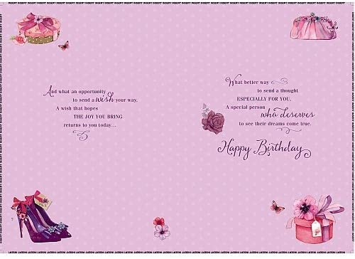 Daughter Birthday Wishing Well Studios Greetings Card