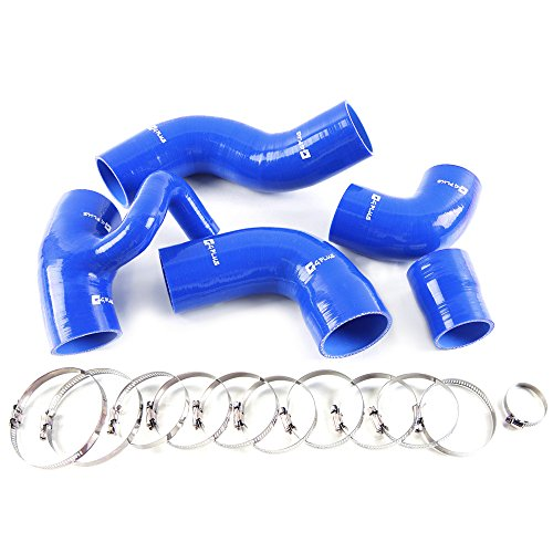 - Silicone Boost Turbo Hose Kit Clamps For Volvo 850 T-5/T-5R S70/V70 T5 2.3L Blue