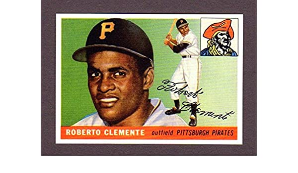 Roberto Clemente 1955 Topps Baseball Reprint Rookie Card