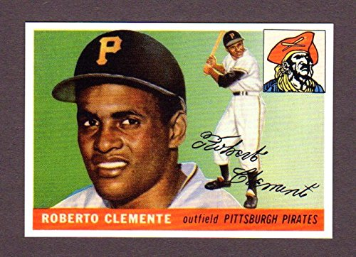 Roberto Clemente 1955 Topps Baseball Reprint Rookie Card (Pirates Trading Card Game)
