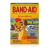 Band-Aid Adhesive Bandages, Disney Juniors The Lion Guard, 20 Bandages (Pack of 4)