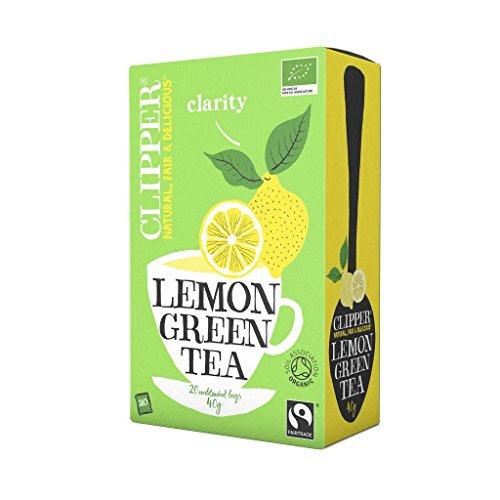 Clipper Organic Green Tea and Lemon - Clipper Green Tea