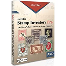 Stamp Collecting Software: Stecotec Stamp Inventory Pro - Collection Management for Stamps and Accessories - Philately Program for Collectors - Digital Organizer and Album - Suitable for Canadian Postage Stamps and Other - Win XP/7/8/10