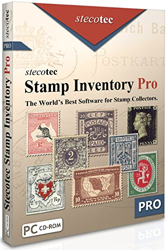 Stamp Collecting Software: Stecotec Stamp Inventory Pro - Collection Management for Stamps and Accessories - Philately Program for Collectors - Digital Organiser | Win XP/7/8/10