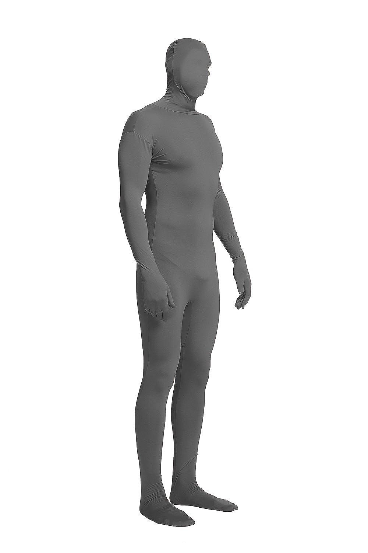 Full Bodysuit Unisex Lycra Spandex Stretch Adult Costume Zentai Disappearing Man Body Suit