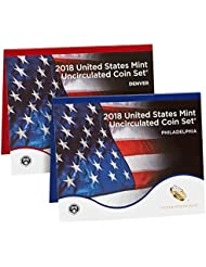 2018 P & D Uncirculated Coin Set Mint Packaged