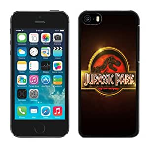 Beautiful Custom Designed Cover Case For iPhone 5C With Jurassic Park Logo Phone Case