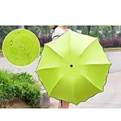Gift for your daughter, school girls, wife,fashion ladies etc.It will make them happy and become a good memory!       Features: 1, Handmade 2, Dual use in Sunny and Rainy day 3, Magical Blooming Flowers in Rain 4, Vinyl coating, have s...