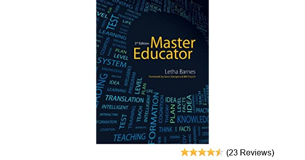 Master educator kindle edition by letha barnes health fitness master educator kindle edition by letha barnes health fitness dieting kindle ebooks amazon fandeluxe Gallery