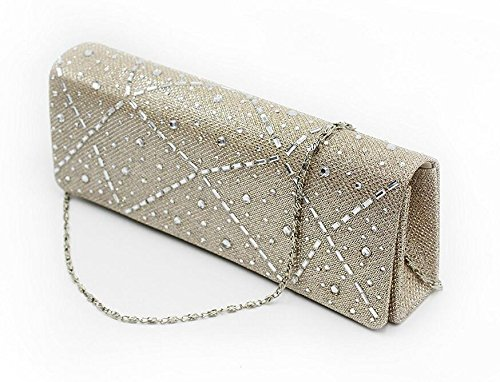 [Glamour Evening Bag Crystal Hard Case Clutch Handbag Purse for Women with Detachable Chains Best Gift For Christmas Eve,Halloween,Thanksgiving Day Women Gift] (Womens Halloween Ideas)